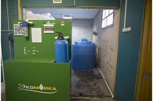 Блок фильтрации, управления, биореактор