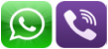 Viber-WhatsApp