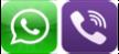 Viber-WhatsApp