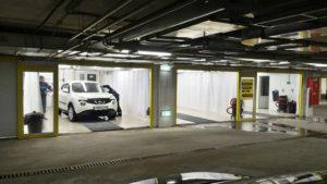 автомойка в подземном паркинге