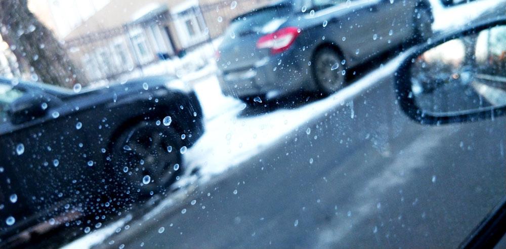 соль на автомобиле